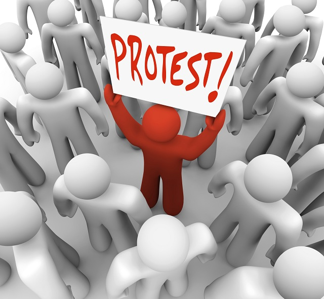 Protests Foreclosures